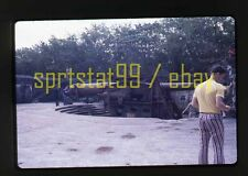 1978 Corredigor Manila Bay Philippines Cannon  - Vintage 35mm Slide