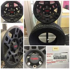 2012-2016 Toyota 4Runner 17 inch TRD black wheels