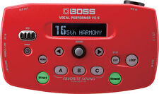 Boss VE-5 Vocal Performer Effects Processor Looper VE5 Red BRAND NEW