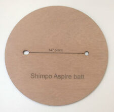 10 Throwing batts for Shimpo Aspire Potters Wheel 6mm marine plywood