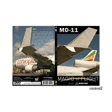 Ethiopian Boeing (McDonnell Douglas) MD-11Aircraft DVD Video-Brand New Sealed