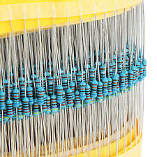 Kinds Each Value 400 Pcs 1/4W 1% 30 Metal Film Resistor Assortment Kit Set RY