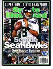 2014 Seattle Seahawks Super Bowl 48 Champions Sports Illustrated Commemorative