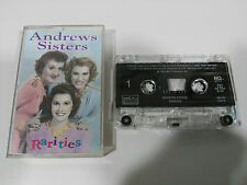 ANDREWS SISTERS RARITIES CINTA TAPE CASSETTE MCA 1984 USA EDITION MCAC 22012