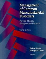 Management of Common Musculoskeletal Disorders : Physical Therapy Principles...