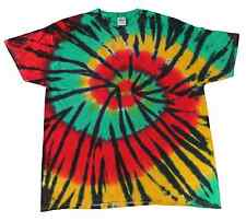 Multi-Color Tie Dye T-Shirts Kids & Adult Gildan Cotton 100% colortone-Gildan