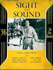 SS51-21-2 SIGHT AND SOUND 1951 Trevor Howard  PETER LORRE UK MAGAZINE