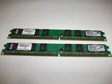 2GB 2X (Kingston 1 GB DIMM 667 MHz DDR2 SDRAM Memory KVR667D2N5/1G Low Profile)