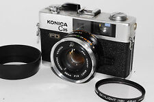 """Exc++"" Konica C35 FD  RF Camera with 38mm f1.8 Lens w/Filter From Japan *1128"