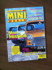 Mini World Magazine January 1997 Broadspeed Woody Pick Up, Speedster, Cooper S
