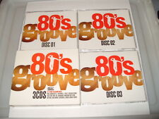 Eighties Groove 80's Groove-FUNK/SOUL OLD SKOOL (2003) 3 CD -30 TRACKS -FREEPOST