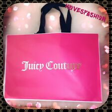 ✨��JUICY COUTURE Shopping Bag Present Carrier Bag LARGE 46cm Gift Packaging��✨