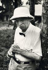 Photo Argentique Albert Schweitzer 1959