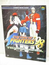 KING OF FIGHTERS 98 Technical Manual Guide Neo Geo Book SI53*
