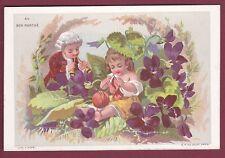 Chromo AU BON MARCHE - 140613 - APPEL - la violette tricot