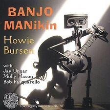 Howard Bursen Howie CD Banjo Manikin 2001 Folk Legacy