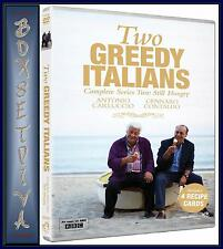 TWO GREEDY ITALIANS - COMPLETE SERIES 2 - STILL HUNGARY  **BRAND NEW DVD ***
