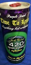 2008 Vintage 420 Hemp Energy Drink FULL RARE Collectors - Jack Herer Died 2010