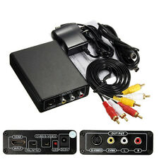 HDMI zu auf AV CVBS S-Video R/L mit Audio Adapter Kabel 1080p HD Konverter HDTV