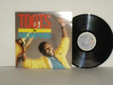 TOOTS In Memphis LP Vinyl Toots and The Maytals 1988 Mango Reggae Ska Plays Well