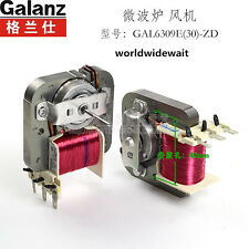 1PC Microwave Oven Fan Motor Cooling Fan For Galanz GAL6309E(30)-ZD