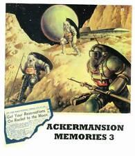 ACKERMANSION MEMORIES #3 (2016) Forrest Ackerman fanzine, Famous Monsters