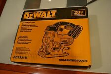 Retail New Dewalt DCS331 20v Jig Saw Tool Only use 20 volt DCB204 DCB200 DCB203