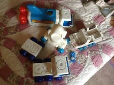 LOT Vintage 1980s Tomy Space Station Vehicles Shuttle commander big space 1980