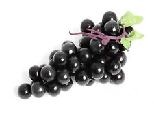 Cbbg20 frutta artificiali mazzo di uva nero lunghezza 20cm