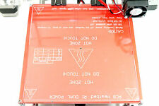 Borosilicate Glass Print Hot Bed for RepRap 3D Printer 213x200x3mm Prusa i3