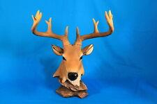 Decorative Buck Bust Statue Deer Head Sculpture DWK 2010 (8 Point)