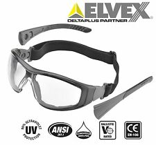 Go-Specs II Clear Lens- CAMO Frames -Safety/Tactical/Shooting -Glasses/Goggles