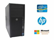 HP Z420 Workstation Intel Xeon Quad Core 3.6GHz, No RAM, No HDD, 600W, Win 7 COA