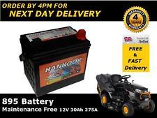 mf895 batterie 30 ah 300cca batterie micro tracteur tondeuse hankook - livraison