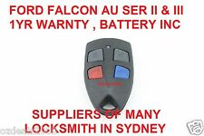 Ford AU Falcon/FPV/XR6/XR8 Car Remote Series 2 & 3 99'-02' AU2/AU3 HIGH QUALITY