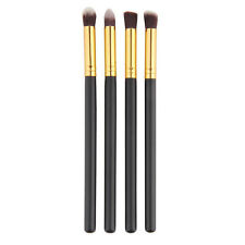 4pcs Pro Makeup Cosmetic Beauty Tool Eyeshadow Foundation Blending Brush Set