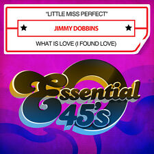 Little Miss Perfect / What Is Love - Jimmy Dobbins (2015, CD Maxi Single NEUF)