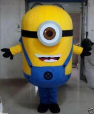 Hot sale!Minions Despicable Me Mascot Costume EPE Fancy Dress Outfit Adult