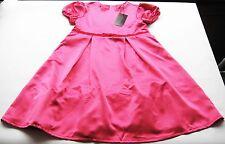 KA Satin Kleid Gr.116 Loki by Cadeau NEU m.E pink glänzend festlich