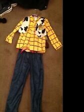 Disney disneystore toy story complete Woody outfit with hat very old aged 2 to 3
