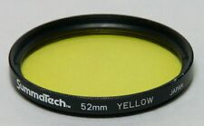 52mm Screw-In Filter SUMMATECH YELLOW B&W CONTRAST Made in Japan