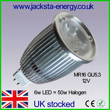 MR16 LED 6W Spot *6 Pack* only £1.66 each Warm White Just £1.66 each From UK