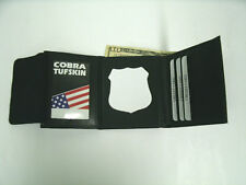 New York City Correction Officer's Style Badge & ID Tri-Fold Wallet CT-09 B