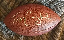 """Tom Coughlin """"The Duke"""" Signed Nfl Football"""
