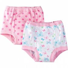 Gerber Girls Training Pants 2 Pack NEW Size 2T Butterfly