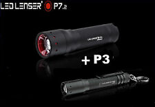 LED LENSER P7.2 & P3 COMBO Pack TORCH FLASHLIGHT SEPARATE GIFT BOX