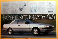 1983 Magazine Print Ad for a 1984 Mazda 626 Sports Coupe
