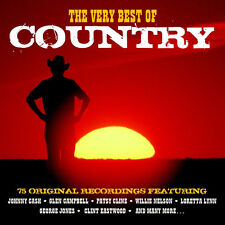 Very Best Of Country VARIOUS ARTISTS Best Of 75 Songs ESSENTIAL Music NEW 3 CD