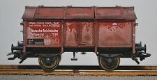 ACHTUNG!  Fleischmann 5213 DRG Covered Short Hopper, Prof. Weathered w/ RP25s