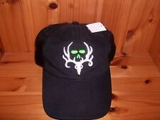Michael Waddle Bone Collector Black Antler Hunting Hat / Cap - NEW!